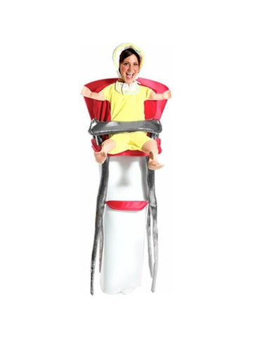 Adult Baby in Highchair Costume-COSTUMEISH