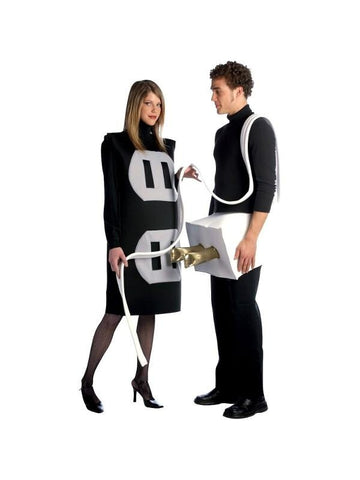 Adult Plug & Socket Couple Costume