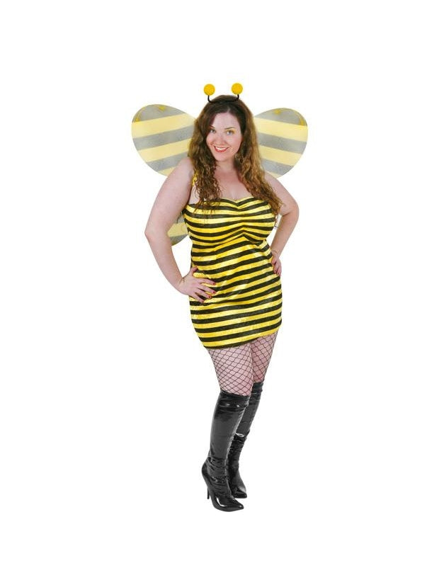 Plus Size Sexy Bumble Bee Costume-COSTUMEISH
