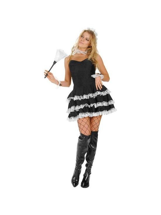 Sexy Lacey French Maid Costume-COSTUMEISH