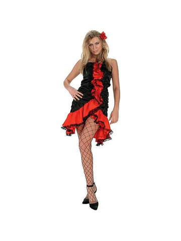 Sexy Flamingo Dancer Costume-COSTUMEISH