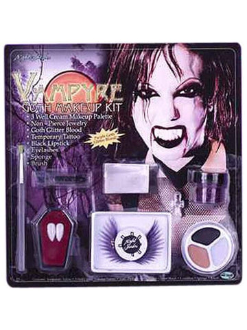 Adult Women's Vampire Fx Makeup Kit