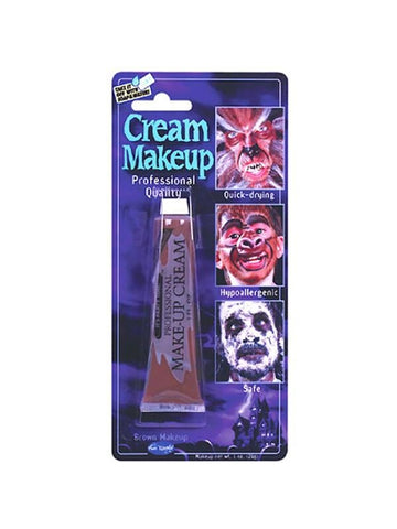 Adult Brown Cream Makeup-COSTUMEISH