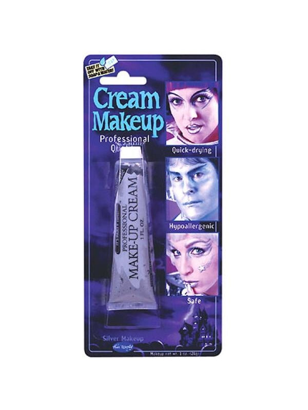 Adult Silver Cream Makeup-COSTUMEISH