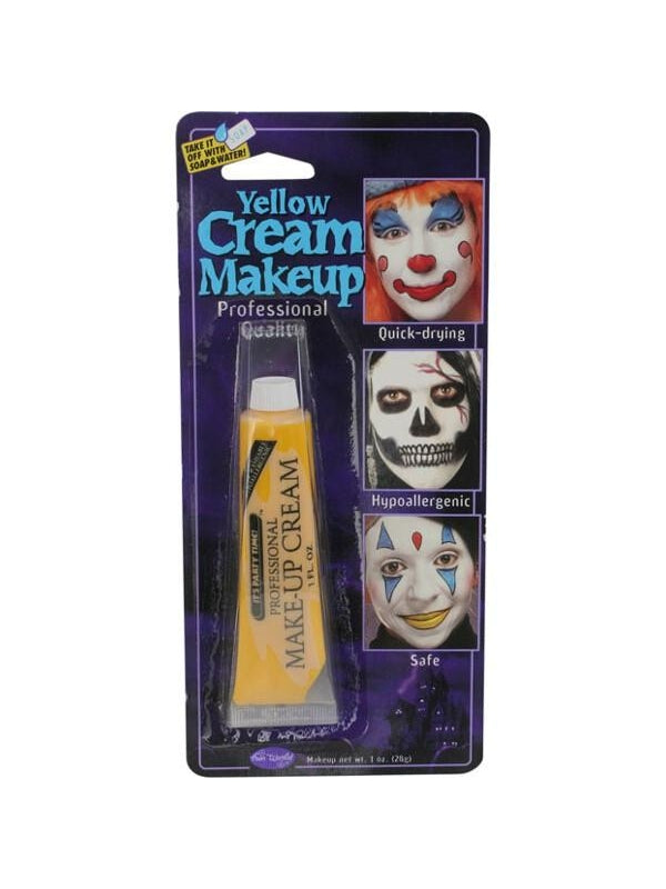 Adult Yellow Cream Makeup-COSTUMEISH