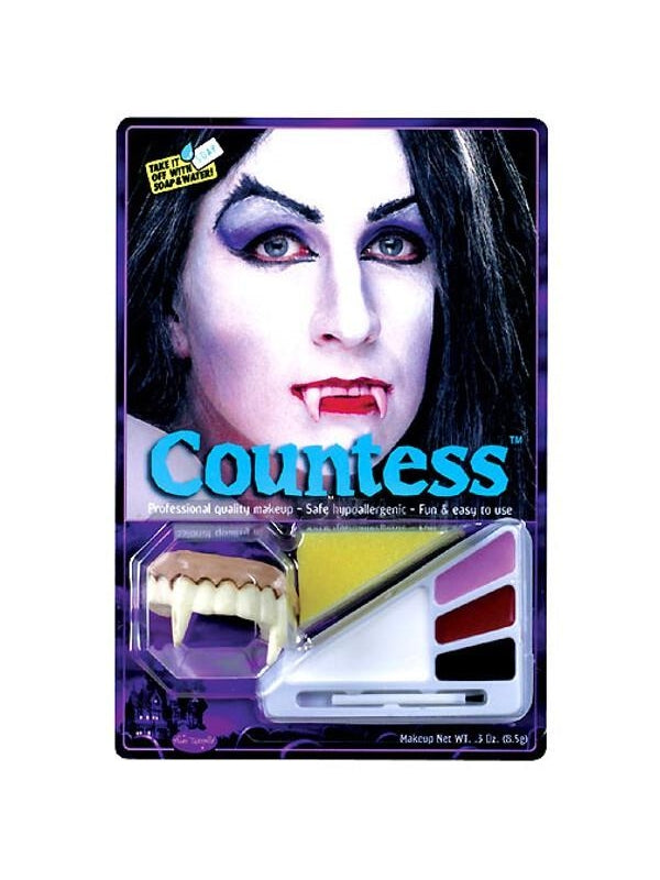 Adult Countess Halloween Makeup Kit-COSTUMEISH