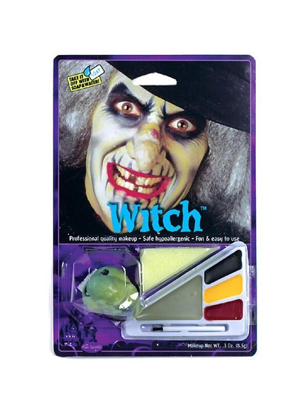 Adult Witch Halloween Makeup Kit-COSTUMEISH