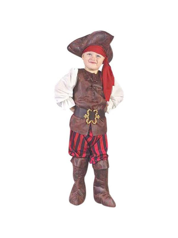 Toddler High Seas Boy Pirate Costume-COSTUMEISH