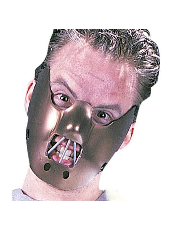 Adult Hannibal Lector Mask-COSTUMEISH