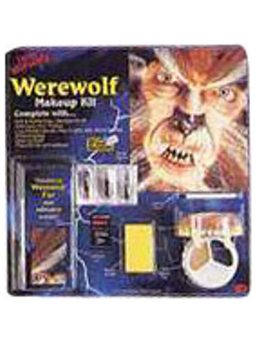 Adult Werewolf Halloween Make Up Kit