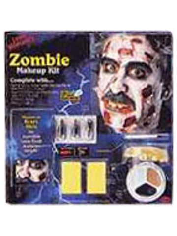 Adult Zombie Halloween Makeup Kit