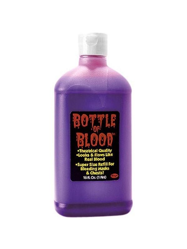 Adult Bottle Of Fake Blood-COSTUMEISH