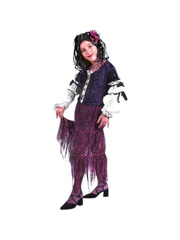 Child's Gypsy Rose Costume-COSTUMEISH
