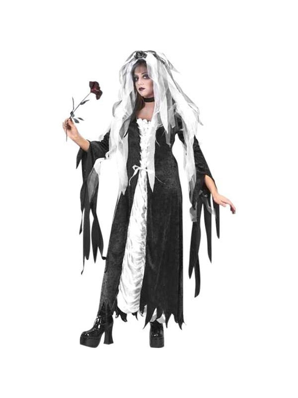Teen Coffin Bride Costume-COSTUMEISH