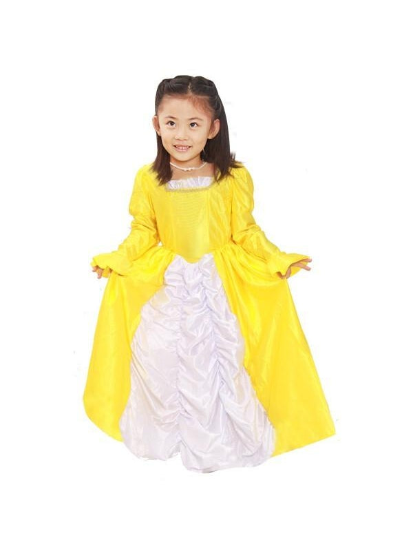 Toddler Beauty & the Beast Belle Dress Costume-COSTUMEISH