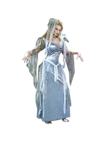 Adult Ghostly Goddess Costume-COSTUMEISH