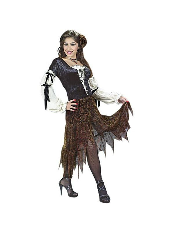 Adult Gypsy Rose Costume-COSTUMEISH