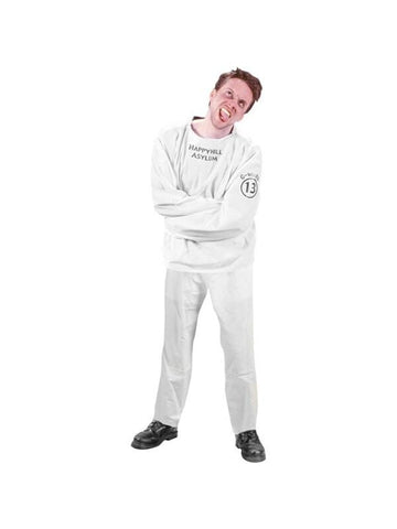 Adult Straight Jacket Costume-COSTUMEISH