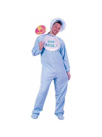 Adult Blue Baby Man Costume-COSTUMEISH