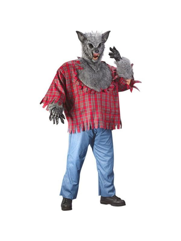 Adult Plus Size Werewolf Costume-COSTUMEISH