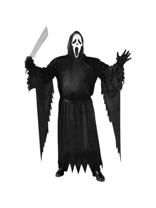 Adult Plus Size Scream Costume-COSTUMEISH
