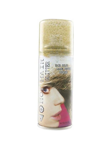 Adult Gold Glitter Hair Spray