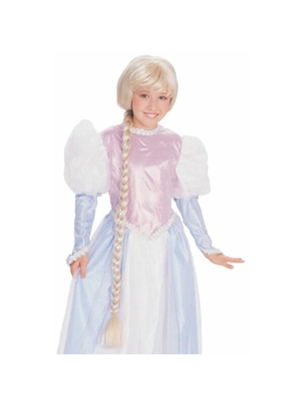 Child's Barbie Rapunzel Costume Wig-COSTUMEISH