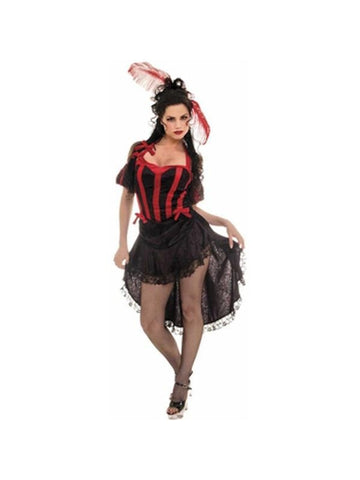 Adult Can Can Girl Dancer Costume