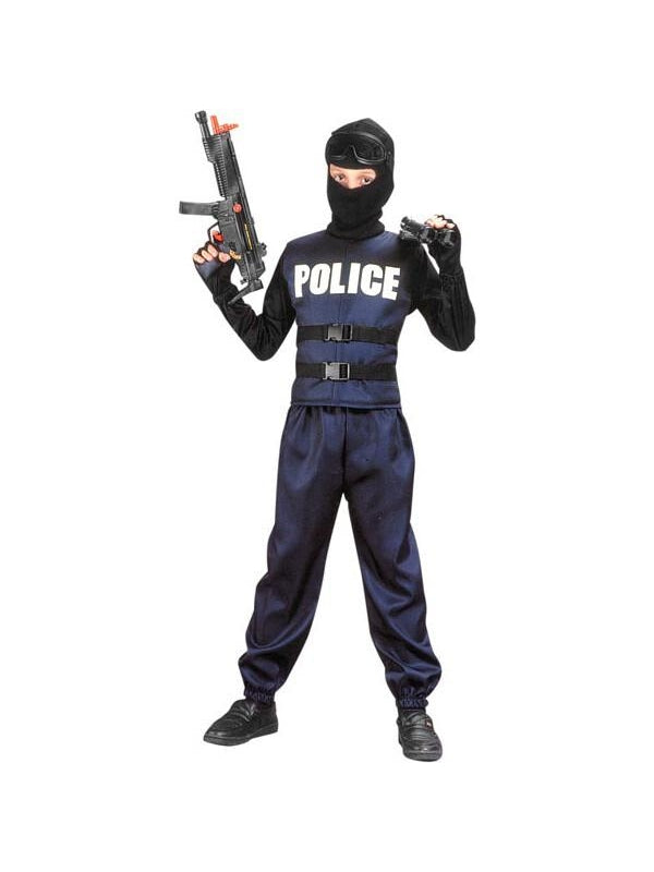 Child's Swat Team Costume-COSTUMEISH