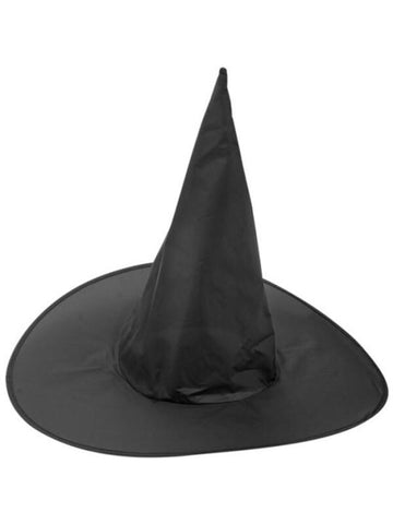 Adult Black Witch Hat-COSTUMEISH