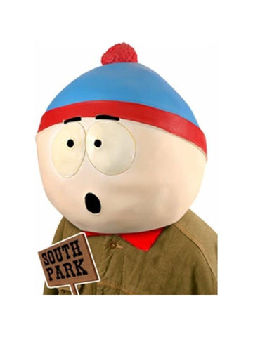South Park Stan Costume Mask-COSTUMEISH