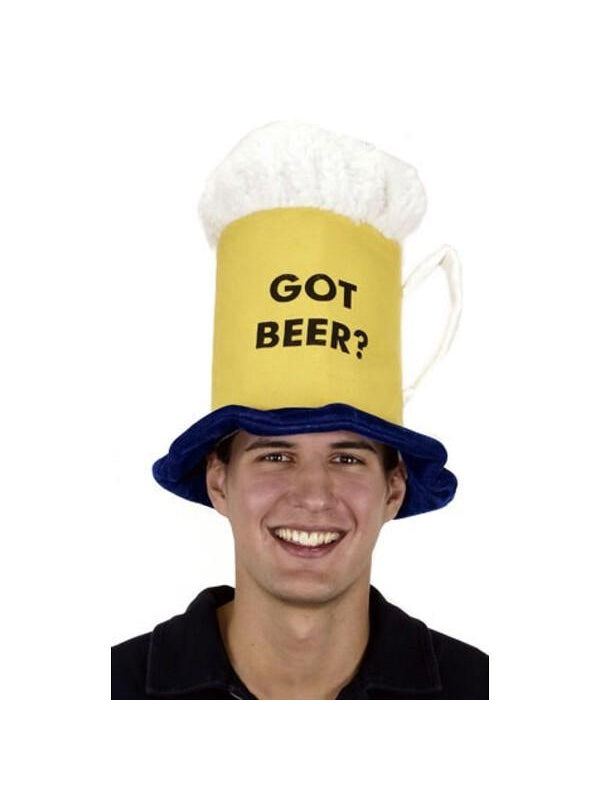 Got Beer? Mug Hat-COSTUMEISH