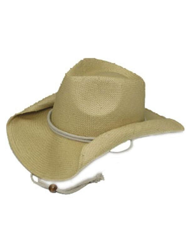 Rolled Brim Cowboy Hat-COSTUMEISH