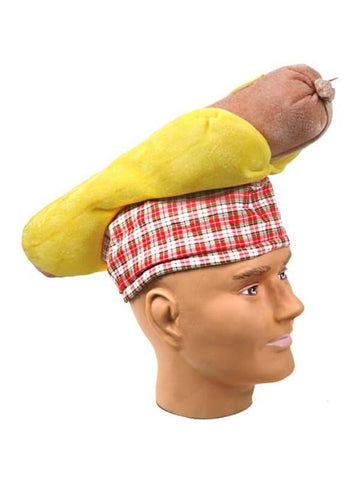 Adult Hot Dog Hat