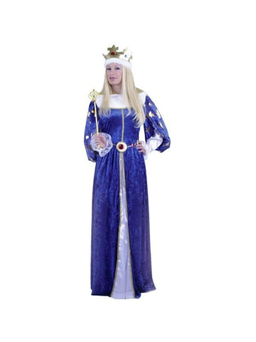 Adult Queens Gown Costume
