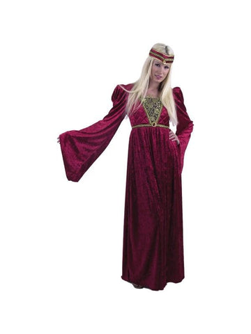 Adult Wine Renaissance Queen Costume-COSTUMEISH