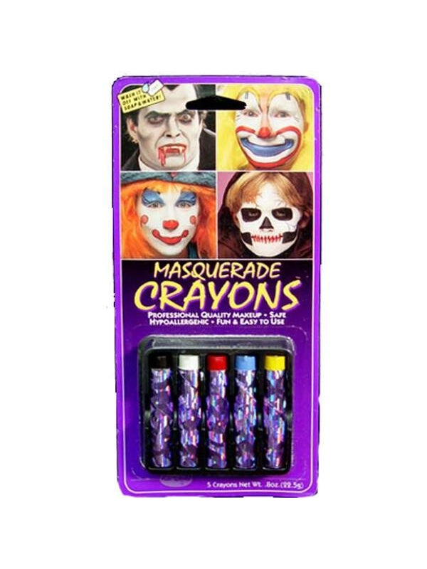 Adult Masquerade Crayons-COSTUMEISH
