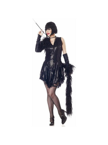 Adult Sequined Flapper Costume