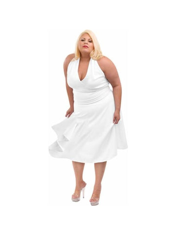 Adult Plus Size Marilyn Dress Costume