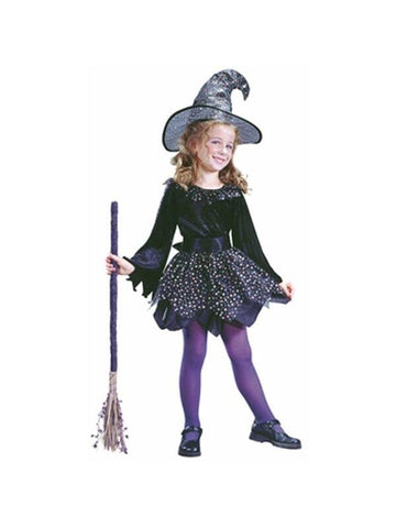 Childs Purple Witch Dress-COSTUMEISH