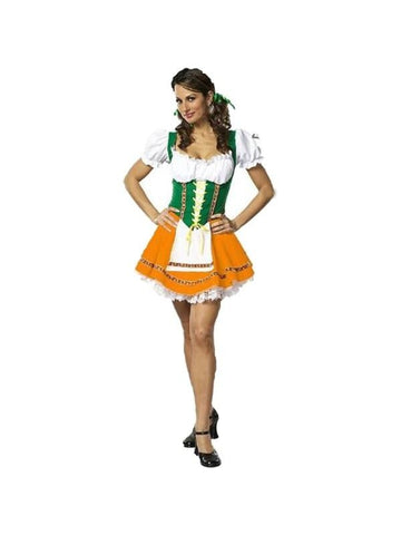Adult Sexy Octoberfest Beer Garden Girl-COSTUMEISH