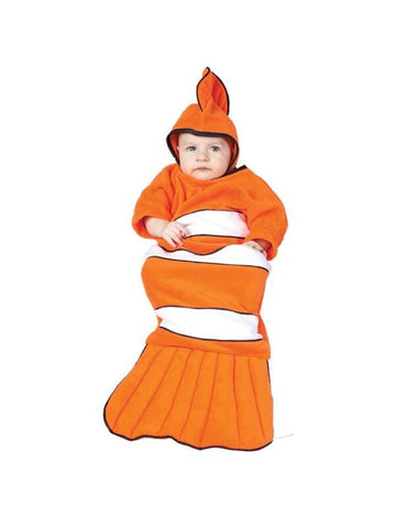 Infant Orange Baby Clownfish Costume-COSTUMEISH