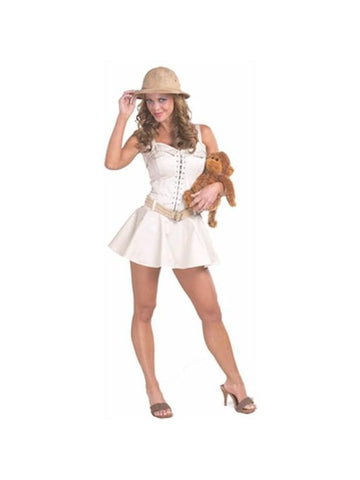 Adult Sexy Safari Girl Costume-COSTUMEISH