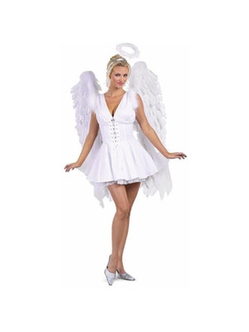 Adult Sexy Angel Costume-COSTUMEISH