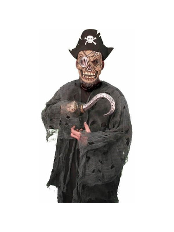 Teen Pirate Zombie Boy Costume-COSTUMEISH