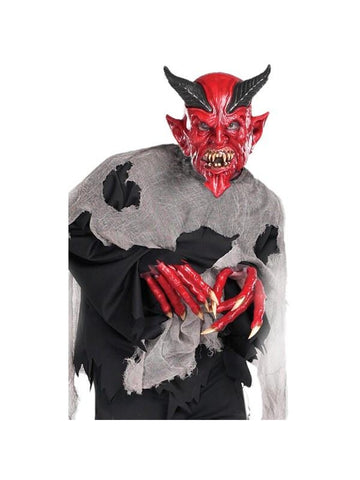 Adult Easy Evil Devil Costume-COSTUMEISH