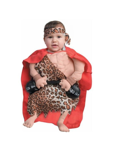Baby Muscle Man Costume-COSTUMEISH
