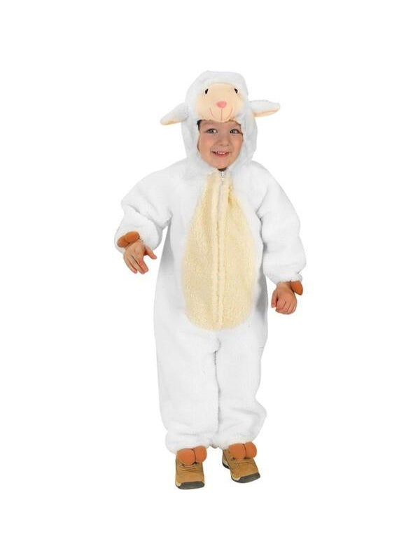 Toddler Loveable Lamb Costume-COSTUMEISH
