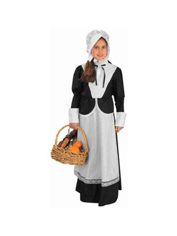 Childs Puritan Girl Costume-COSTUMEISH