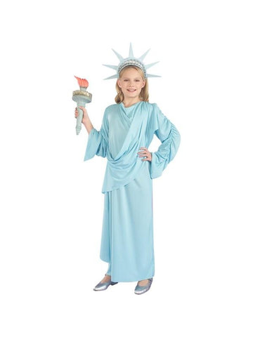 Child's Lady Liberty Costume-COSTUMEISH